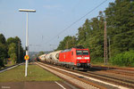 185 031 mit EZ 44241 Woippy/F - Mannheim Rbf Gr.M, Dudweiler 08.09.14