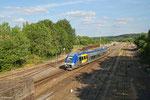 SNCF AGC 76738 beim umsetzen ins Depot Sarreguemines , 19.06.14