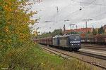 RBH 151 127 + 151 151 mit GM 60498 Ensdorf - Neunkirchen(Saar) Hbf, Saarbrücken-Burbach 20.10.14