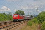 181 218 mit EN 452 Moskva Belorusskaja - Paris Est , Landstuhl 11.06.14