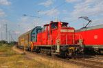 363 172 beim rangieren in Homburg(Saar) am 24.06.14