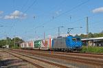 185 513 mit DGS 47680 München-Laim Rbf - Bettembourg/L (KV,Mars) , Homburg(Saar) 12.08.14