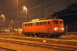 140 678 wartet in Saarbrücken auf ihren nächsten Einsatz (EZ 51070 Saarbrücken Rbf West - Hagen Vorhalle), Saarbrücken 21.11.14