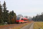 """und aus der Gegenrichtung wieder 643 024 """"Glan-Münchweiler""""  als RB 13864 nach Kusel - 11:06 Uhr"""