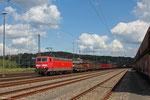 181 223 mit EK 55884 Neunkirchen(Saar) Hbf - Saarbrücken Rbf Nord, Neunkirchen 21.08.14