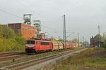 155 219 mit GM 60561 Auersmacher - Dillingen Zentralkokerei (Kalk in 26 Tal(ns)), Luisenthal(Saar) 30.10.14