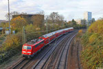 111 028 mit RE-D 4273 Trier Hbf - Mannheim Hbf,  SB- Burbach 25.11.13