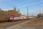 """CFL 4016 mit """"MARS-zug"""" am 19.03.14 in Luisenthal(Saar)"""