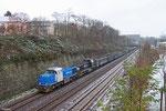 CFL DT 1582 + 1584 mit EZ 45436 Homburg(Saar) Hbf - Forbach/F (Bettembourg/L) (Umleiter wegen Streckensperrung Wasserbillig- Igel), Saarbrücken 09.12.14