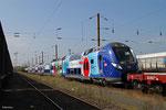 Bombardier SNCF Ter Région Centre (009L) , Forbach Triage 16.09.14
