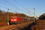 181 220 mit EZ 52808 Mannheim Rbf Gr G - Saarbrücken Rbf Nord , 26.11.13 (EV)