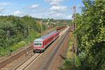 628/928 453 als RE 12774 St.Wendel - Saarbrücken Hbf, Sulzbach 19.08.14