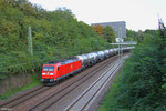 185 037 mit DGS 46235 Saarbrücken Rbf Nord - Forbach/F (Salaise), Saarbrücken 16.09.14