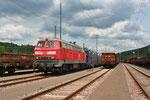 01.07. - Saarbrücken Rbf West , 218 009 mit KT 42564 nach Dillingen/Ford