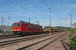 155 039 mit EK 55923 Dillingen Hütte - Saarbrücken Rbf Nord , 05.05.14