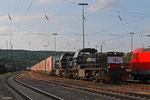 """CFL 1585 + 1584 mit """"Marszug"""" von München Riem nach Bettembourg am 12.06 in Saarbrücken Rbf"""