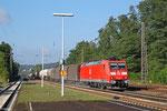 185 030 mit EZ 44241 Woippy/F - Mannheim Rbf Gr.M, Dudweiler 01.09.14