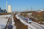 429 ... als RE 4108 Koblenz Hbf - Mannheim Hbf, Ensdorf 28.12.14