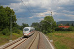 ICE 9554 Frankfurt(Main)Hbf - Paris Est am 24.07.14 bei Kindsbach