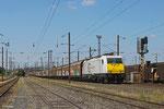 ECR 186 345 mit XP 49213 Cerbere/F - Mannheim Rbf Gr.M , Forbach Triage am 22.06.14