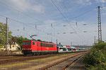 155 038 mit GA 47730 Dillingen DB/Ford - Venlo/NL (Vlissingen Sloeh) am 21.05.14 in Ehrang Nord