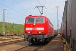 """181 211 """"Lorraine"""" mit EK 55883 Saarbrücken Rbf West - Neunkirchen(Saar)Hbf am 24.04.14 in Saarbrücken"""