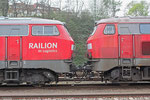 """225 117 """"Railion DB Logistics"""" und 218 002 (225 809)"""