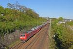 185 034 mit EZ 49268 Einsiedlerhof - Forbach/F (Villers-Cotterêts) , Güterumfahrung Saarbrücken am 16.04.14