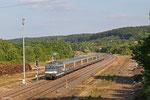 SNCF BB67519 mit TER 30908 Krimmeri-Meinau - Sarreguemines , 19.06.14
