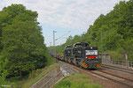 CFL 1585 + 1584 mit DGS 75829 (Bettembourg/L) Forbach/ - München Laim Rbf (Sdl.Marslogistik) am 19.05.14 kurz nach Grenzübertritt in Saarbrücken
