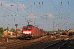 DT 189 037 + 189 044 mit GM 48716  Dillingen Hochofen Hütte - Maasvlakte Oost/NL , Dillingen(Saar) am 18.06.14