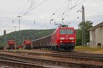 145 001 mit EZ 51913 Saarbrücken Rbf Ost - Mannheim Rbf Gr.K (EV) , Saarbrücken Rbf 23.06.14