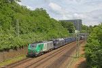 SNCF FRET BB37021 mit GA 49276 Einsiedlerhof - Hendaye/F , Saarbrücken am 28.05.14