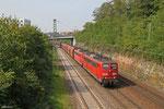 DT RBH 268 (151 004) + RBH... (151 ...) mit GM 60499 Oberhausen West Orm - Neunkirchen(Saar) Hbf (Kohle) , Saarbrücken 09.09.14