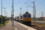 ECR DT 77 040 + 77 005 mit GC 49241 Dunkerque/F - Dormagen (Polimeri Europa France) , 04.05.14 in Forbach/F