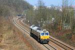 ECR 77 030 unterwegs nach Frankreich als T 67111 Saarbrücken Hbf - Forbach am 04.04.2013