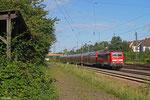 111 121 mit RE-D 4273 Trier Hbf - Mannheim Hbf, Saarbrücken-Burbach 19.08.14