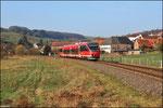 643 030 bei Rehweiler als Regionalbahn 12190 nach Kusel.