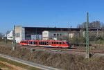 "642 142/642 ""Rinnthal"" als RB 12924 Saarbrücken Hbf - Pirmasens Hbf am 09.03.14 in Rohrbach(Saar)"