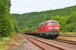 04.07. - Heimbach(Nahe) , 218 009 mit M 62802 Neunkirchen(Saar) - Baumholder