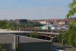 "SNCF FRET BB37019 ""DENIS DOUTE"" mit DGS 44232 Dillingen Hütte - Dunkerque/F ,  Achterbrücke Saarbrücken 22.06.14"