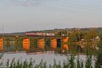 "CFL 4002 mit ""Mars"" nach Bettembourg/L , Moselbrücke Konz 05.08.14"