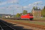 152 082 mit GM 62826 Ehrang Nord - Augsburg Rbf Nord (Sdl. Walzdraht) am 09.04.14 in Merzig