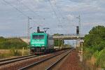 185 610 (im Einsatz für TX Logistik AG) mit DGS 47686 München Laim Rbf - Bettembourg/L (KV Mars) , Haßloch 08.08.14