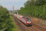 CFL 4015 mit DGS 47685 Bettembourg/L - München Laim Rbf (Triest Campo Marzio) , Saarbrücken 26.07.14