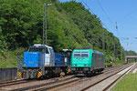 CFL 1581 + 1585 und 185 617, Jägersfreude am 06.06.14