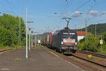 "Dispolok 182 510 (i.E.für TX Logistik ) mit ""Marszug"" am 16.05.14 in Landstuhl"