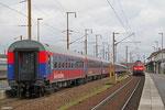 """BTE Sonderzug , ab Paris fährt er als """"Train de la Mémoire"""" nach Polen zur Gedenkstätte Oswicim (Auschwitz)"""