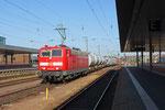 181 218 - Spritzzug - 185 031 in Saarbrücken Hbf am 16.06.14