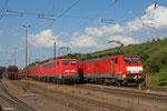 DT 140 799 + 140 805 als  T 66782 Dillingen Zentralkokerei - Dillingen(Saar) , Dillingen Hütte am 18.06.14